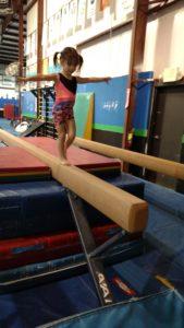 amelia on beam